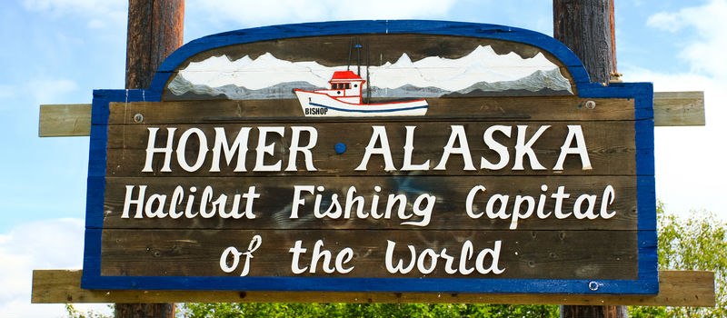 Homer, Alaska Halibut Fishing Capital
